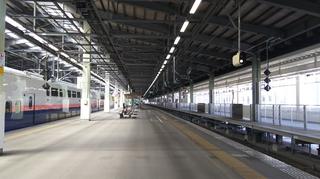 新潟駅新幹線番線票