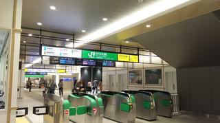 新潟駅新幹線エスカレーター