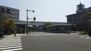 新潟市BRT市役所前のりば