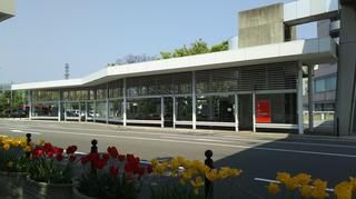 新潟市BRT市役所前1、2番線