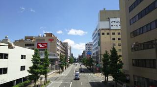 新潟駅前明石通り